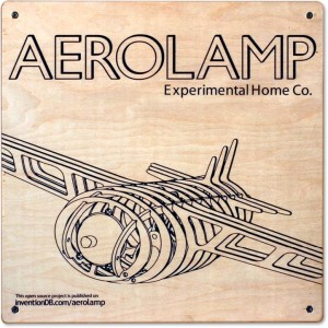 Top view of Aerolamp packaging
